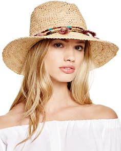 Ale by Alessandra Jurere Raffia Fedora - Bloomingdale's_0