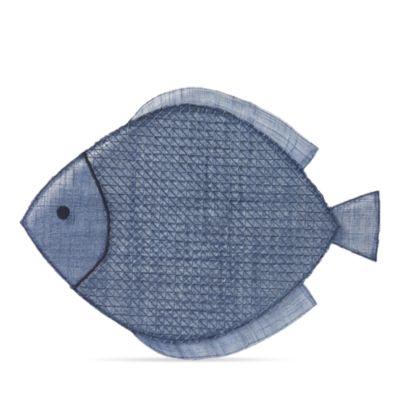 $Juliska Fish Placemat, Navy Blue - Bloomingdale's