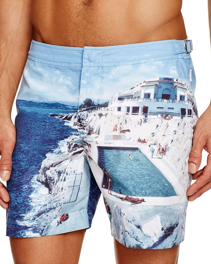 Orlebar Brown - Bulldog Hulton Getty Roc Pool Print Swim Trunks