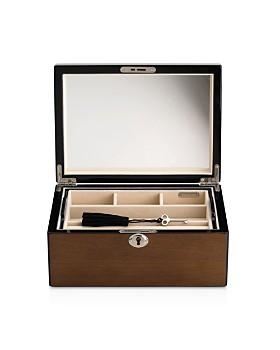 Reed & Barton - Natural Instinct Modern Lines Latte Jewelry Box