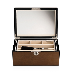 Reed and Barton Natural Instinct Modern Lines Latte Jewelry Box