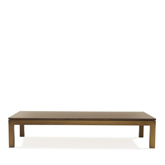 Mitchell Gold Bob Williams - Classic Parsons Medium Coffee Table