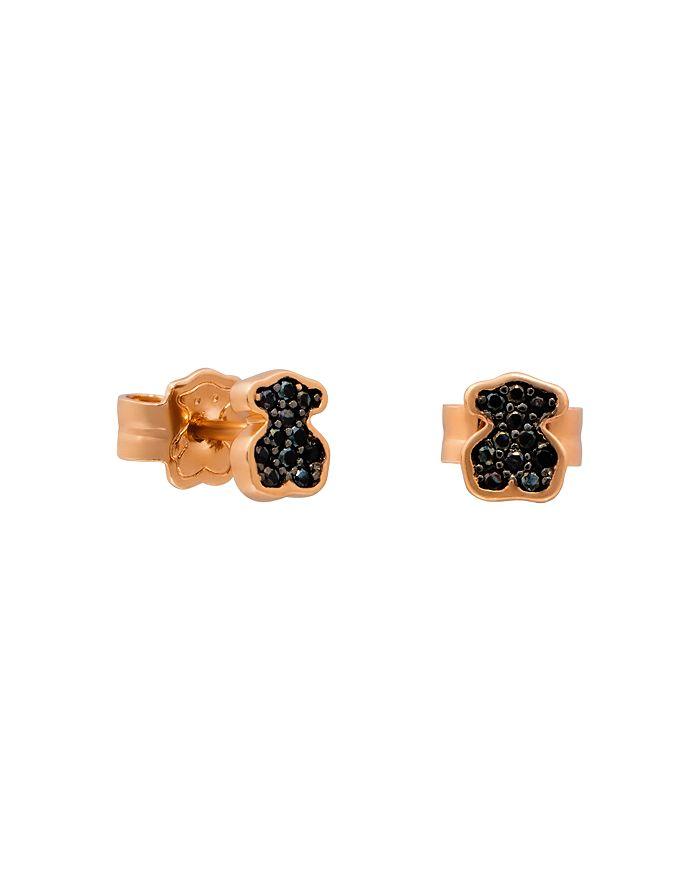 TOUS - Spinel Bear Stud Earrings