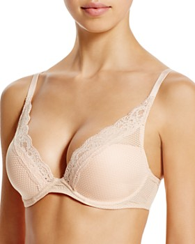 eeb4e3c6ea185 Passionata By Chantelle - Brooklyn Plunge Lace T-Shirt Bra ...