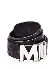 MCM Visetos Round Reversible Belt - Bloomingdale's_0