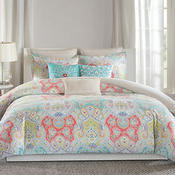 Echo - Cyprus Mini Duvet Cover Set, Twin
