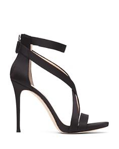 Imagine VINCE CAMUTO - Women's Devin Satin High-Heel Ankle Strap Sandals