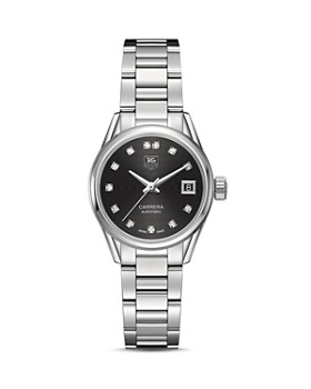 TAG Heuer - Carrera Calibre 9 Watch with Diamonds, 28mm