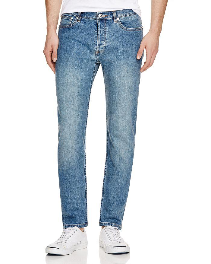 ac8c834a8875 A.P.C. - Petit New Standard Slim Fit Jeans in Stonewash