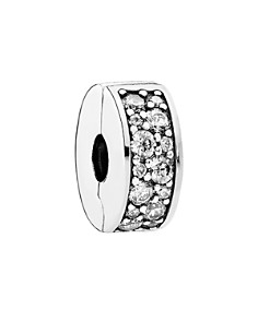 PANDORA Moments Collection Sterling Silver & Cubic Zirconia Shining Elegance Clip - Bloomingdale's_0