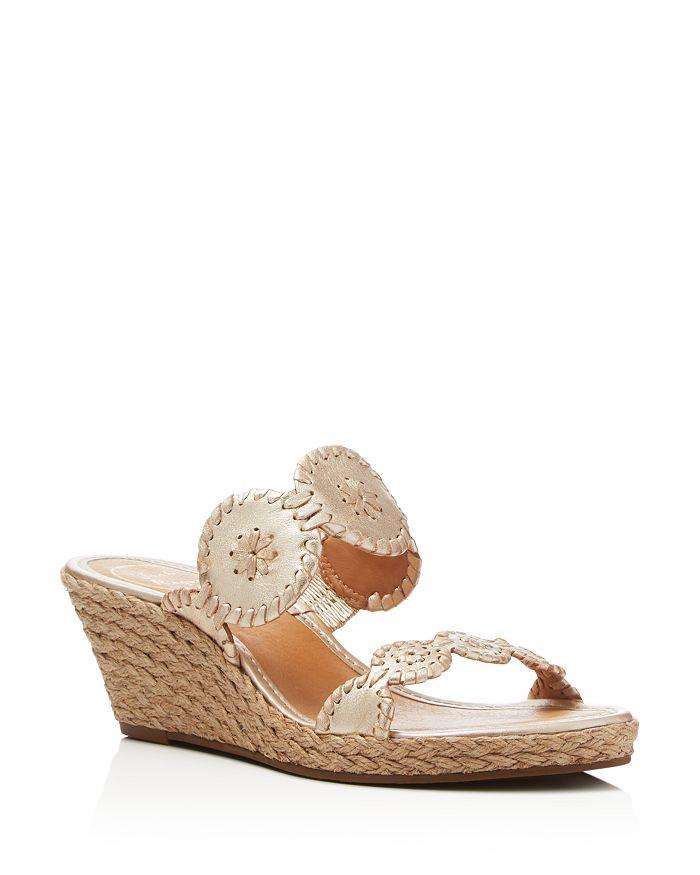 Jack Rogers - Women's Shelby Espadrille Wedge Slide Sandals