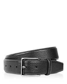 Cole Haan Pebble Leather Belt - Bloomingdale's_0