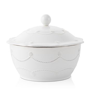 "Juliska - Berry & Thread Whitewash 8"" Covered Casserole"