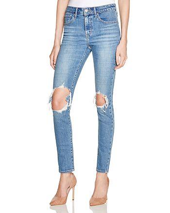 Levi's - 721 Skinny Jeans in Rugged Indigo