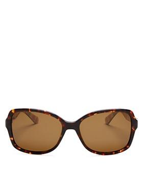 kate spade new york - Women's Polarized Ayleen Square Sunglasses, 56mm