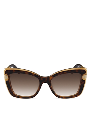 Salvatore Ferragamo Zyl Square Butterfly Sunglasses, 54mm