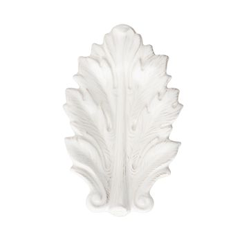 "Juliska - Acanthus Whitewash 7"" Leaf Tray"