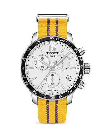 Tissot - Los Angeles Lakers Quickster Stainless Steel Chronograph, 42mm