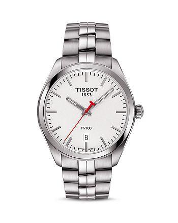 Tissot - NBA PR 100 Stainless Steel Watch, 39mm