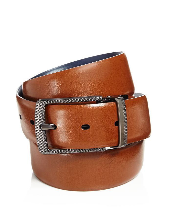 58678566e9b The Men s Store at Bloomingdale s - Men s Reversible Leather Belt - 100%  Exclusive