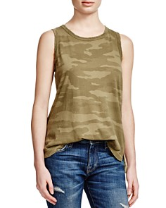 Current/Elliott - The Muscle Camo Tee