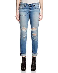 rag & bone/JEAN - The Dre Slim Boyfriend Jeans in Carter
