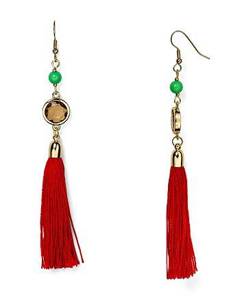AQUA - Charlie Fringe Drop Earrings - 100% Exclusive