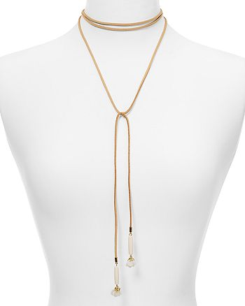 "AQUA - Dallas Flower Choker Necklace, 12"" - 100% Exclusive"