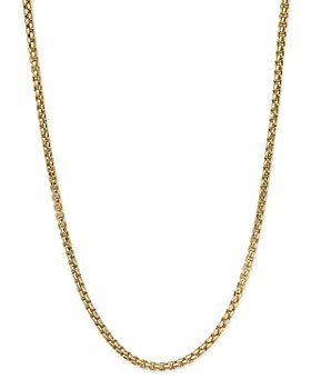 "Bloomingdale's - Box Link Necklace in 14K Yellow Gold, 20"" - 100% Exclusive"