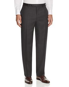 Canali - Siena Classic Fit Wool Dress Pants