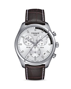 Tissot PR 100 Stainless Steel Chronograph, 41mm - Bloomingdale's_0
