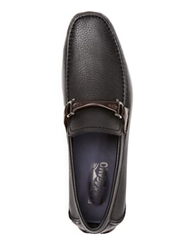Salvatore Ferragamo - Men's Granprix Textured Leather Drivers
