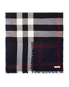 Burberry Merino Wool Check Scarf - Bloomingdale's_0