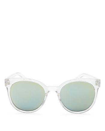 Quay - Women's Mirrored Like Wow Sunglasses, 55mm