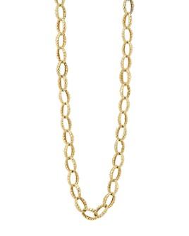 "LAGOS - 18K Gold Link Necklace, 18"""