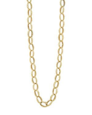 Lagos 18K Gold Link Necklace, 18