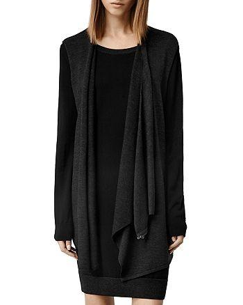 ALLSAINTS - Drina Draped Layer Dress