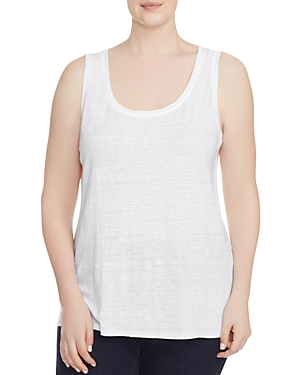 Eileen Fisher Plus System Scoop Neck Tank