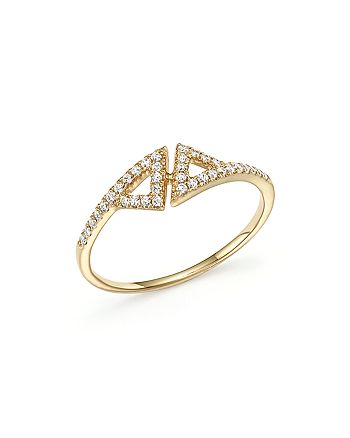 Dana Rebecca Designs - 14K Yellow Gold Aria Selene Ring with Diamonds