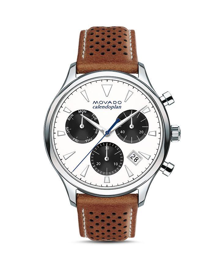 Movado - Heritage Calendoplan Chronograph, 43mm