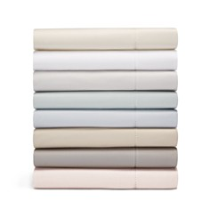 Hudson Park Collection - 600TC Sateen Solid Sheets - 100% Exclusive