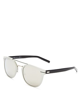 Dior Homme - Men's Mirrored Mixed Media Sunglasses, 51mm
