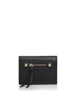 Rebecca Minkoff Regan Leather Card Case