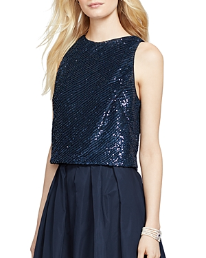 Lauren Ralph Lauren Sequin Top