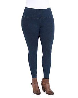 Lyssé Plus - Denim-Look Leggings