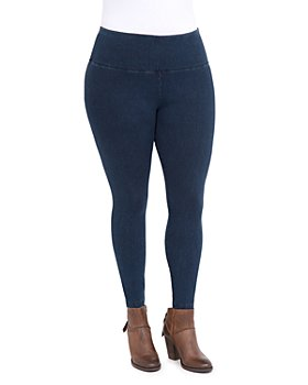 Lyssé Plus - Denim-Look Leggings