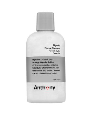 ANTHONY GLYCOLIC FACIAL CLEANSER 8 OZ/ 237 ML
