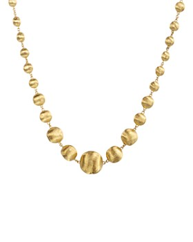 945d65af23 Marco Bicego - 18 K Yellow Gold Bead Necklace, 17