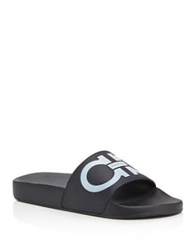 Salvatore Ferragamo - Women's Groove Pool Slide Sandals