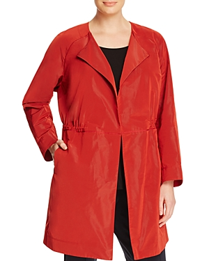 Lafayette 148 New York Plus Rory Drawstring Jacket plus size,  plus size fashion plus size appare